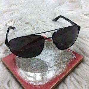 Armani Exchange AX Black Aviator Sunglasses
